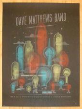 Dave Matthews Band Poster 2013 Scranton PA Toyota Pavilion S/N #/615
