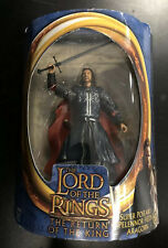 Lord Of The Rings Return Of The King Super Poseable Pelennor Fields Aragorn New