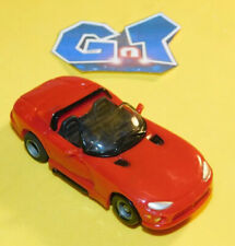 TYCO DODGE VIPER CONVERTIBLE RED Slot Car HO Running Chassis