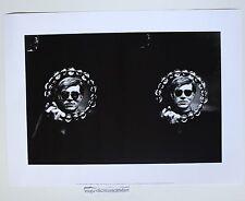 TWO WARHOLS ANDY WARHOL GICLEE ART PRINT POSTER LITHOGRAPH WARHOL FOUNDATION
