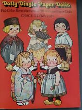 New ListingDolly Dingle Paper Dolls Full Color Reproduction of 30 Antique Paper Dolls 1978