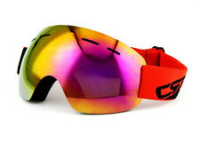 Rimless Snowboard Skiing Protective Glasses Winter UV Goggles Dual Lens Antifog