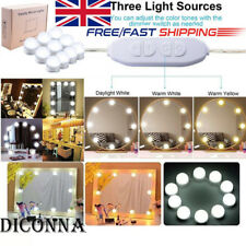 Hollywood Vanity LED Light Kit for Makeup Mirror with 10 Dimmable Bulbs,USB