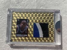 Shaquille O'Neal Game Worn Patch Card 1/1 Superfoil RARE 95-96 2020