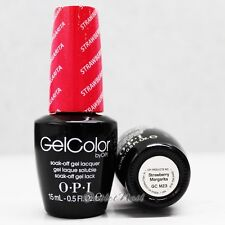 OPI GelColor GC M23 STRAWBERRY MARGARITA 15mL UV LED Gel Polish Bright Pink