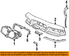 Mercury FORD OEM Grand Marquis Front Panel-Lower Molding Trim Left F6MZ8419BB
