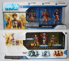 2008 STAR WARS EVOLUTIONS REBEL PILOT LEGACY SERIES II FIGURE PACK NEW SEALED !