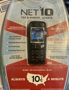 Nokia 1600 NET 10 TRACFONE Cell Phone - New In Opened Package
