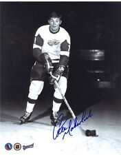 PETE MAHOVLICH DETROIT RED WINGS SIGNED PHOTO w/ COA