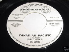 EDDIE VARTAN & HIS COMBO - CANADIAN PACIFIC - 45 LONDON