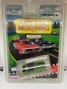 Model Motoring - Chevrolet Camaro - Green - HO Slot Car