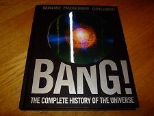 BRIAN MAY-PATRICK MOORE-BANG-SIGNED x 2-1ST-VG-HB-2006-CARLTON BOOKS-VERY RARE