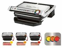 Tefal GC702D Opti Contact plate Grill with cook sensor silver-black