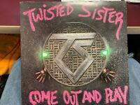 TWISTED SISTER COME OUT AND PLAY LP 1985 ATLANTIC 81275 POP UP SLEEVE INNER