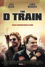 "D TRAIN - 11""x17"" Original Promo Movie Poster Jack Black James Marsden Mint 2015"