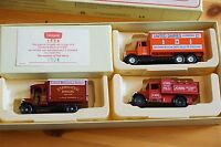 Lledo Unigate Set of 3 Lorries Limited Edition Boxset 1 of 6500 Mint in Box