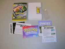 POKEMON VIDEO Ho-Oh the Bells Toll & Hot Water Battle (Nintendo GBA Complete CIB