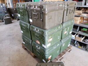 GFK Kiste Box Flightcase Tulb Maibach wasserdicht 50 x 50 x 40 BW Bundeswehr