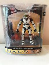 McFarlane Halo 3 Spartan Soldier Mark VI White Figure Series 1