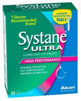 Systane Ultra Lubricant Eye Drops High Performance 75 Vials 01/19 Damaged Box