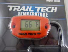 Trail Tech TTO Temperature Meter Digital Gauge 25mm In-Line Hose Sensor Orange