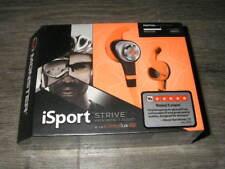 New Monster iSport Strive Earbud Headphones with Apple ControlTalk - Orange
