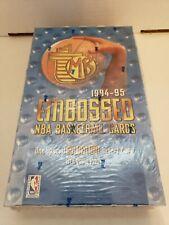 1994/95 Topps Embossed Basketball Box, Jordan Gold!? RARE!!🔥🔥
