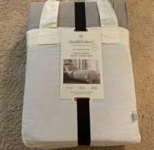 Hearth & Hand With Magnolia Linen Duvet Cover Set
