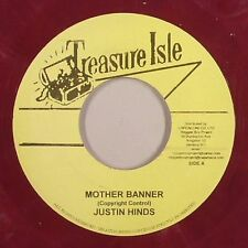 JUSTIN HINDS & THE DOMINOES-Mother Bannière (Treasure Isle) 1965