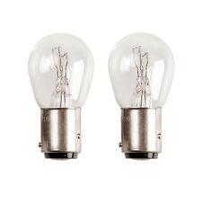 2 x 566 P21/4W Rear Fog Light Car Bulbs 12v 21/4w BAZ15D Offset Pins