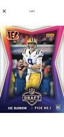2020 Panini Instant NFL Draft Night LSU JOE BURROW - FIRST BENGALS RC ROOKIE