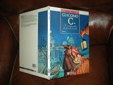 GIACOMO C N°1 LE MASQUE DANS LA BOUCHE D'OMBRE - EO MAI 1988 GLENAT VECU