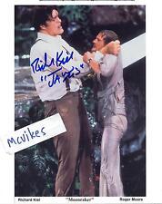 "Richard Kiel as ""Jaws"" ""Moonraker"" Autographed Signed 8x10 Photo COA DECEASED"