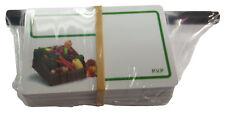 48 Tarjetas PVC porta precios para verduras + MARCADOR DE REGALO