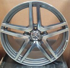 20 Wheels Tires Gunmetal Rims Fit Mercedes S class E class E350  S500 S550 S55