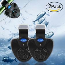 Sea Fishing Bite Alarm Bells Warning LED Light Wireless for Carp Fishing Night