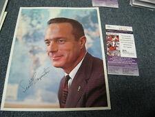 Scott Carpenter Autograph Photo JSA Certified