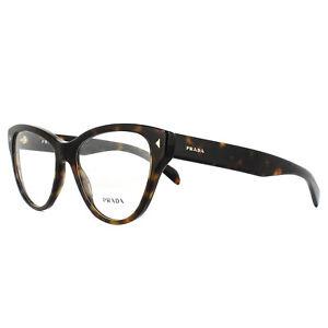 Prada Eyeglasses Frames PR23SV 2AU1O1 Havana 54mm Womens