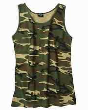 Army Tarn t-shirt Woodland tamaño xl Tank Top camuflaje Camiseta Ejército alemán