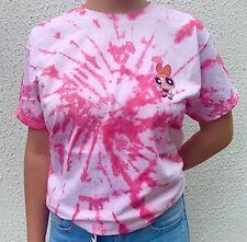 Power Puff Girls BLOSSOM Tie Dye T Shirt