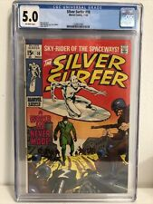 Silver Surfer #10, CGC 5.0 Off-White Pages, Stan Lee, John Buscema, Marvel 1969
