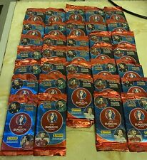 Panini EURO 2016 FRANCE Football Stickers - 34 X Sealed Packets.