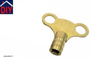 Radiator Bleed Key, Air vent key, Brass radiator key CLOCK TYPE