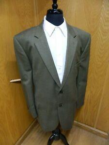 Mens Blazer Sport coat Jacket  Joseph Feiss 52r Wool  Olive Gold H.B NWOT  S#109