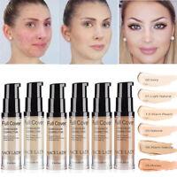Moisturizing Facial Make Up Full Coverage Foundation Concealer Liquid Cream