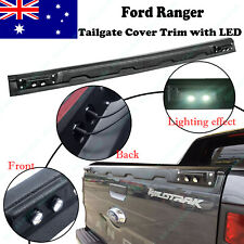Tailgate Cover Trim for Ford Ranger T6 WILDTRAK PX MK1 MK2 MK3 2012-ON With LED