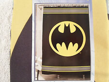 "DC Comics Batman Fabric Shower Curtain 72"" X 72"" Bathroom logo"