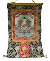 Thangka Tibetano Budda Shakyamuni Appeso Tangka Buddista 77x64cm 26551