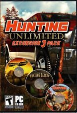 Hunting Unlimited Excursion 3 Pack (PC-CD, 2011) Windows XP/Vista/7 -NEW DVD BOX