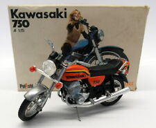 Polistil 1/15 Scale - MS.103 Kawasaki 750 Candy Gold Vintage Bike